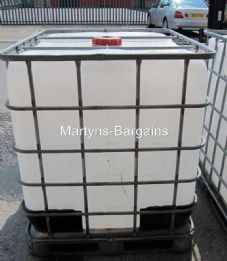 1000L IBC Container- Metal base